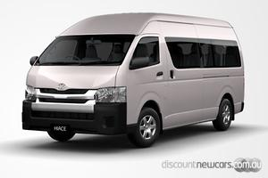2018 Toyota Hiace Commuter Super LWB Manual