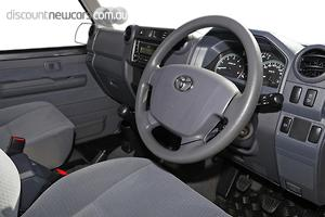 2019 Toyota Landcruiser GXL Manual 4x4 Double Cab