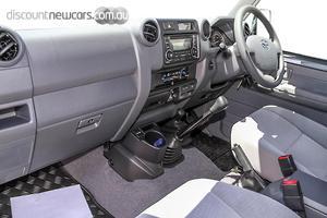 2018 Toyota Landcruiser GXL Manual 4x4