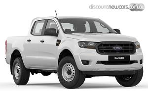 2019 Ford Ranger XL PX MkIII Manual 4x4 MY19 Double Cab