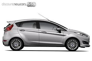 2018 Ford Fiesta Sport WZ Manual