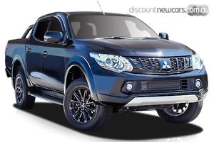 2018 Mitsubishi Triton Blackline MQ Manual 4x4 MY18 Double Cab