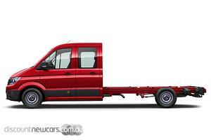 2020 Volkswagen Crafter 35 TDI340 SY1 LWB Auto FWD MY20 Dual Cab