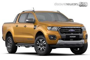 2019 Ford Ranger Wildtrak PX MkIII Manual 4x4 MY19.75 Double Cab