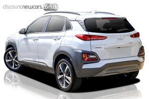 2019 Hyundai Kona Highlander Auto AWD MY20