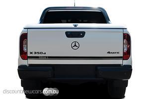2019 Mercedes-Benz X-Class X350d Edition 1 Auto 4MATIC Dual Cab