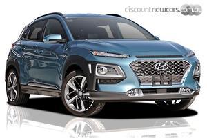 2020 Hyundai Kona Highlander Auto 2WD MY20