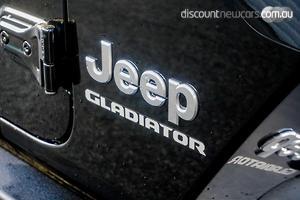 2020 Jeep Gladiator Overland Auto 4x4 MY21 Dual Cab