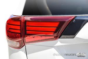 2021 Mitsubishi Outlander Black Edition ZL Auto 2WD MY21