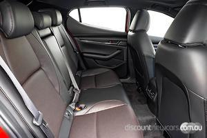 2021 Mazda 3 G25 Astina BP Series Auto