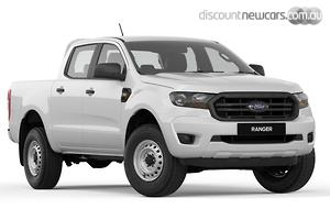 2019 Ford Ranger XL Hi-Rider PX MkIII Auto 4x2 MY19 Double Cab