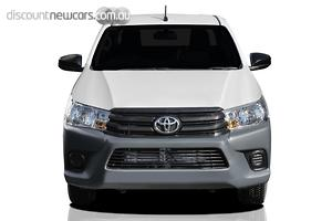 2019 Toyota Hilux Workmate Manual 4x2 Double Cab