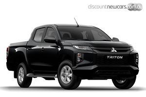 2020 Mitsubishi Triton GLX+ MR Manual 4x4 MY20 Double Cab