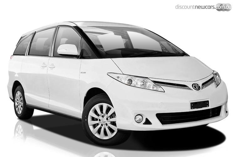 2014 Toyota Tarago GLi MY13 Sports Automatic