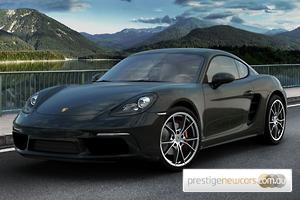 2019 Porsche 718 Cayman S 982 Manual MY19